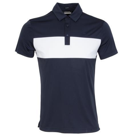 J Lindeberg Raphael Polo Shirt JL Navy