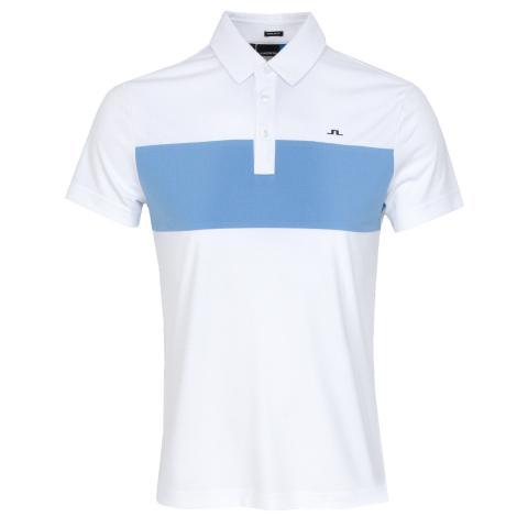 J Lindeberg Raphael Polo Shirt White