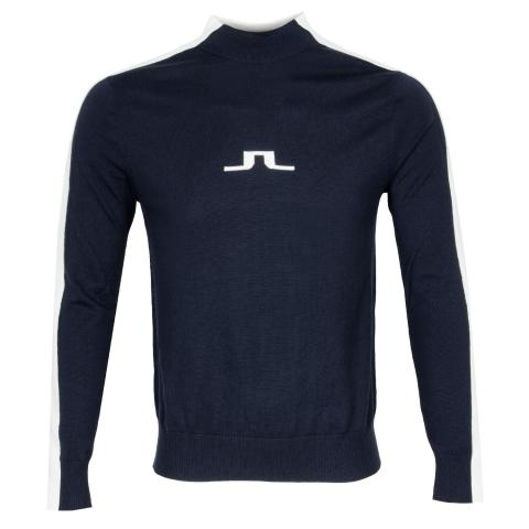 J Lindeberg Ruben Turtle Neck Sweater JL Navy