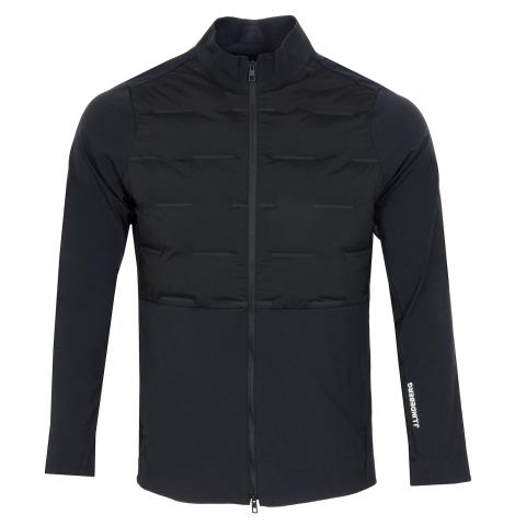 J Lindeberg Shield Quilted Jacket Black