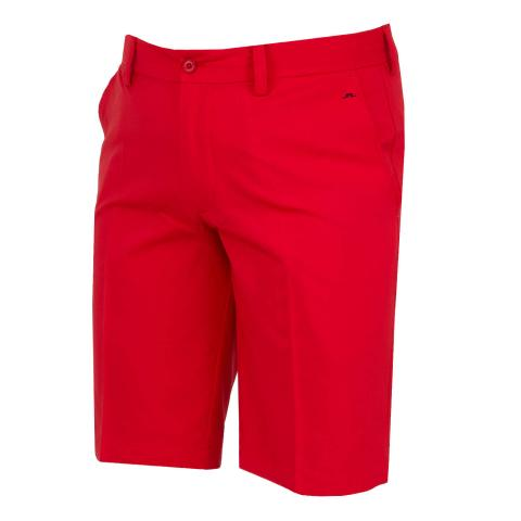 J Lindeberg Somle Stretch Shorts Red Bell
