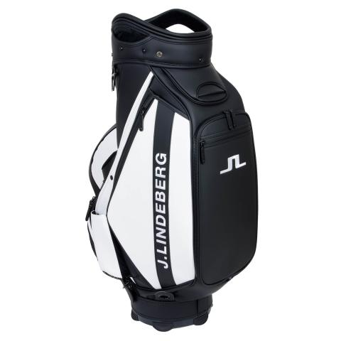 J Lindeberg Tour Staff Bag Black AW20