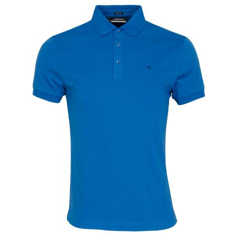 J Lindeberg Stan Polo Shirt Egyptian Blue