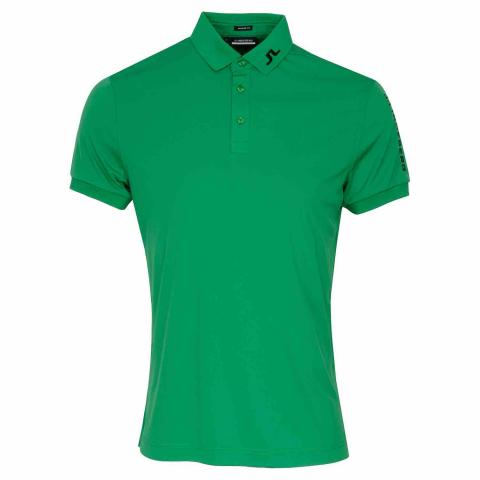 J Lindeberg Tour Tech TX Polo Shirt Stan Green AW20