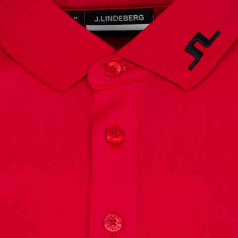 J Lindeberg Tour Tech TX Polo Shirt