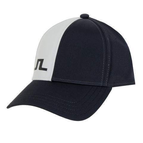 J Lindeberg Will Tech Stretch Baseball Cap Black AW20