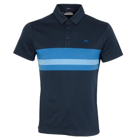 J Lindeberg Matt Polo Shirt JL Navy