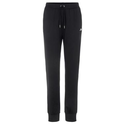 J Lindeberg Ladies Stretch Fleece Track Trousers Black
