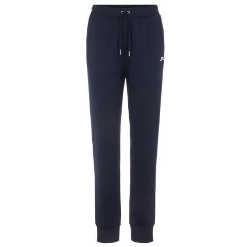 J Lindeberg Ladies Stretch Fleece Track Trousers JL Navy