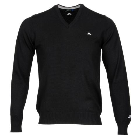 J Lindeberg Lymann Tour Merino Sweater Black