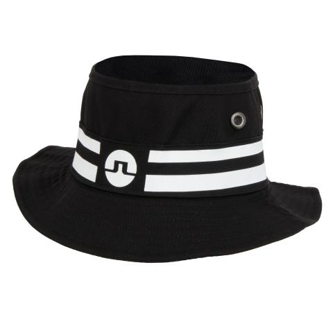 fd7c0fcb8cac3 J Lindeberg Sap Flexi Twill Bucket Hat Black