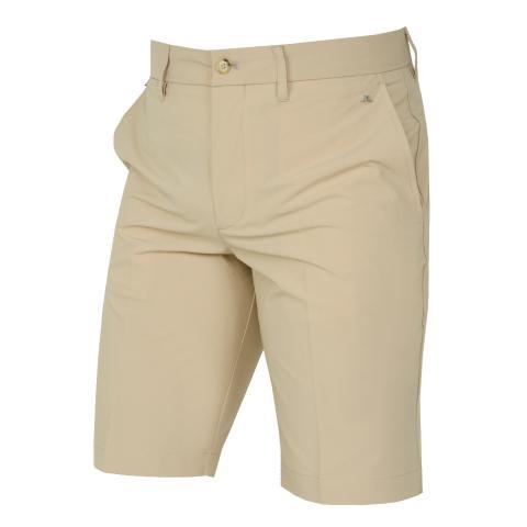 J Lindeberg Eloy Tapered Micro Stretch Shorts Safari Beige