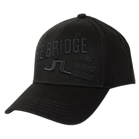 ae53d9b9b16 J Lindeberg Iconic Baseball Cap Black  44.00