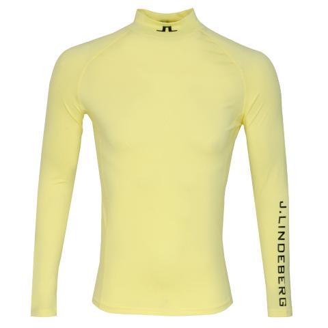 J Lindeberg Aello Soft Compression Base Layer Still Yellow