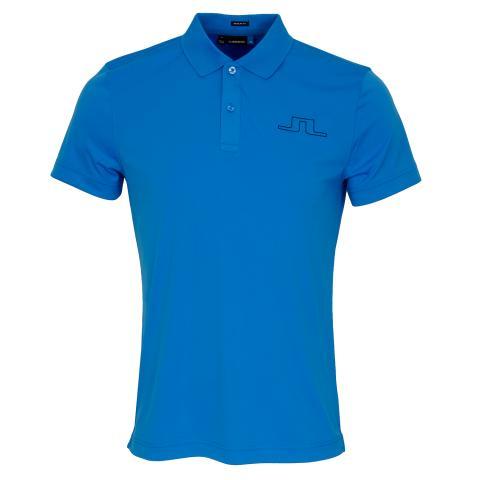 J Lindeberg Alan TX Polo Shirt True Blue
