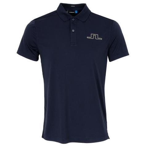 J Lindeberg Alan TX Polo Shirt JL Navy