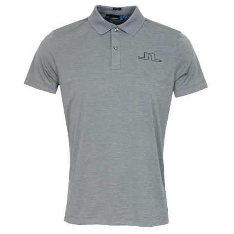 J Lindeberg Alan TX Polo Shirt Stone Grey