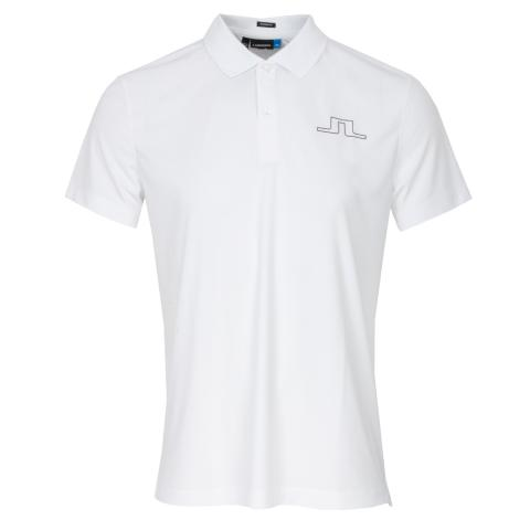 J Lindeberg Alan TX Polo Shirt White