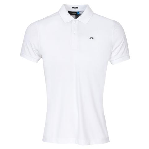 J Lindeberg Beau TX Polo Shirt White