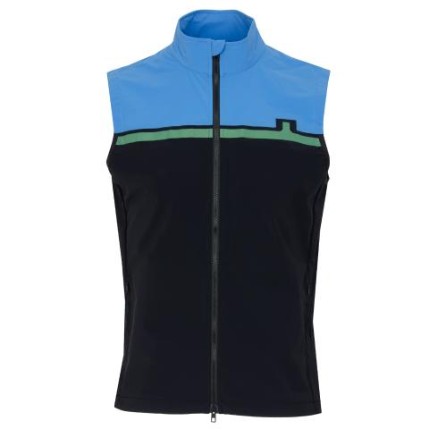 J Lindeberg Blocked Lux Softshell Vest Black