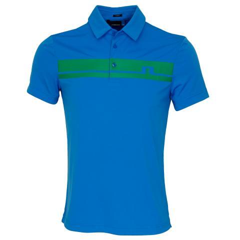 J Lindeberg Clark TX Polo Shirt True Blue