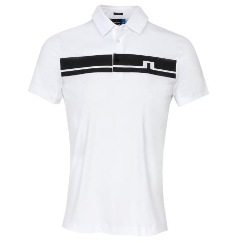 J Lindeberg Clark TX Polo Shirt White