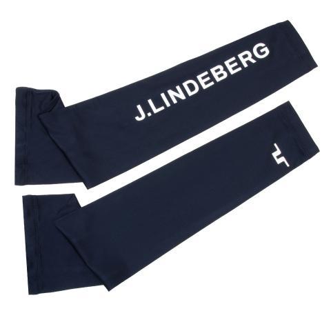 J Lindeberg Enzo Soft Compression Sleeves JL Navy
