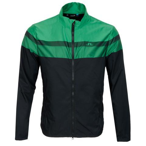 J Lindeberg Felix Woven Jacquard Jacket Black