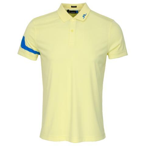 J Lindeberg Heath TX Polo Shirt Still Yellow