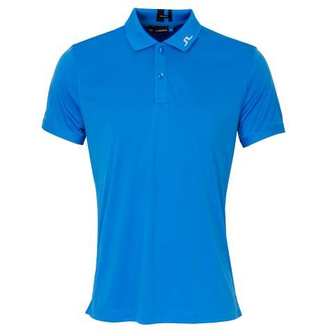 J Lindeberg Jax TX Coolmax Polo Shirt True Blue