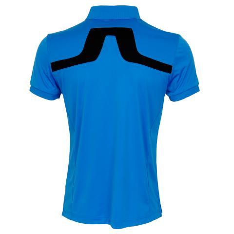 J Lindeberg KV TX Polo Shirt True Blue