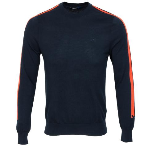 J Lindeberg Kevin Pima Cotton Sweater JL Navy