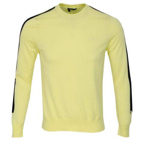 J Lindeberg Kevin Pima Cotton Sweater Still Yellow