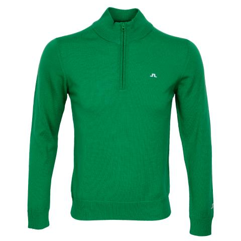 J Lindeberg Kian Tour Merino Sweater Stan Green