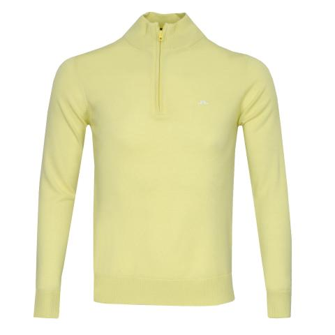 J Lindeberg Kian Tour Merino Sweater Still Yellow