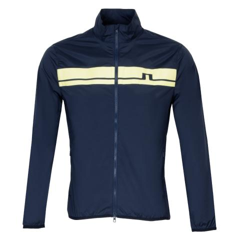 J Lindeberg Lee Light Stretch Wind Pro Windproof Jacket JL Navy