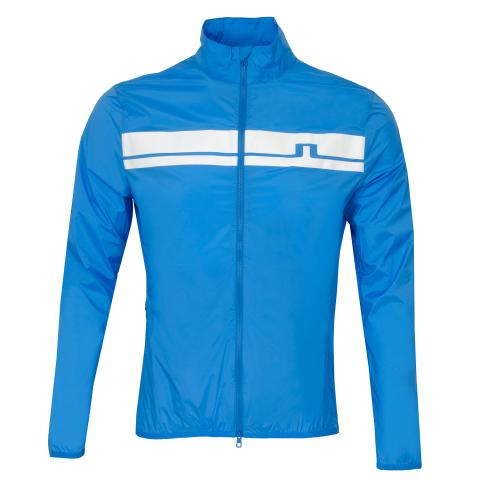 J Lindeberg Lee Light Stretch Wind Pro Windproof Jacket True Blue