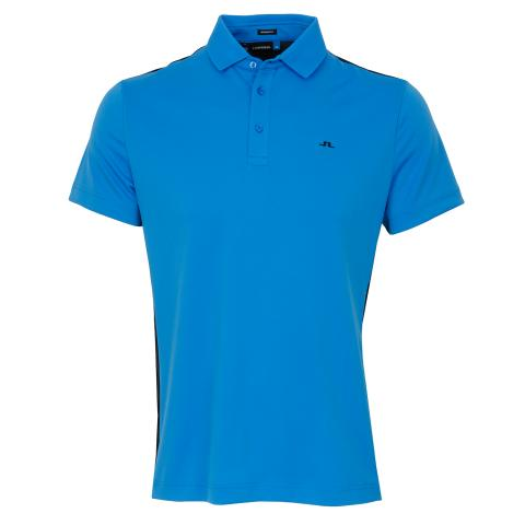 J Lindeberg Loke TourDry Polo Shirt True Blue