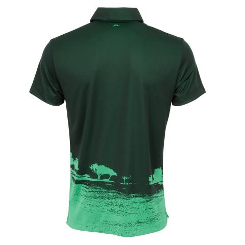 J Lindeberg Nash TX Jaquard Polo Shirt