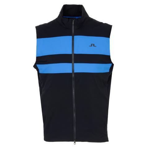 J Lindeberg Packlight Ripstop Windproof Vest Black