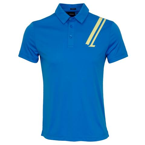 J Lindeberg Phoenix TX Coolmax Polo Shirt True Blue