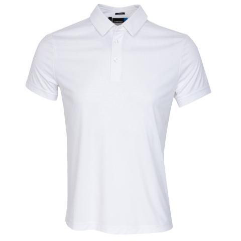 J Lindeberg Pine TX Polo Shirt White