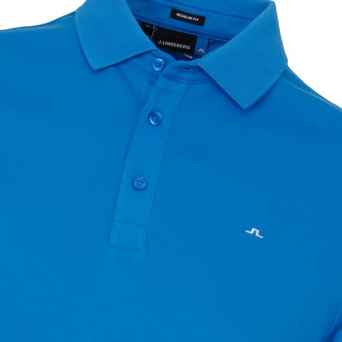 J Lindeberg Stan Club Pique Polo Shirt