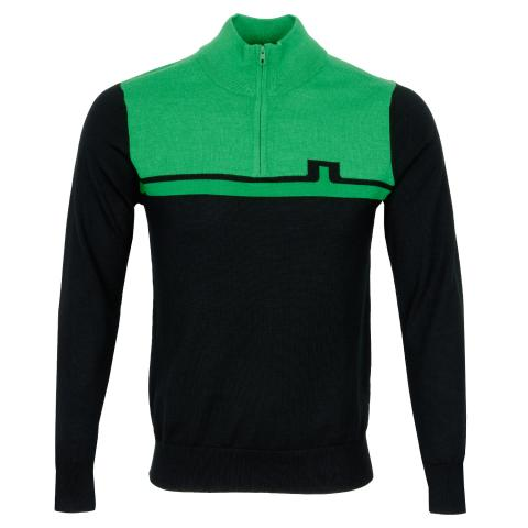 J Lindeberg Theo Coolmax Sweater Stan Green