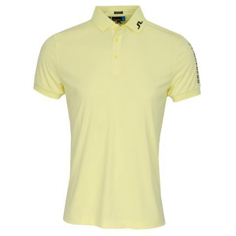 J Lindeberg Tour Tech TX Polo Shirt Still Yellow