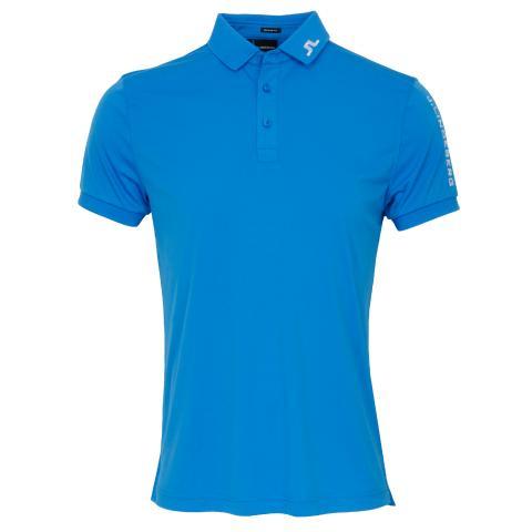 J Lindeberg Tour Tech TX Polo Shirt True Blue