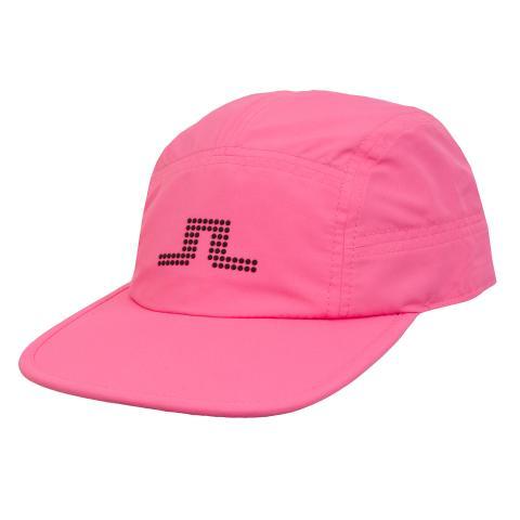 J Lindeberg York Archive Flat Brim Cap Pop Pink