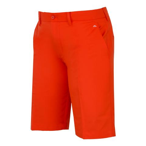 J Lindeberg Somle Tapered Light Poly Shorts Tomato Red