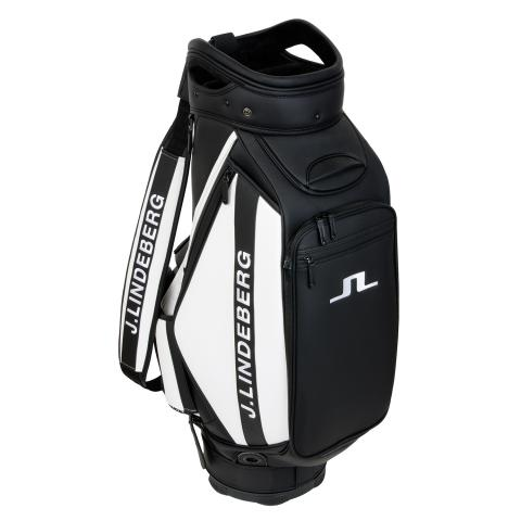 J Lindeberg Tour Staff Bag Black