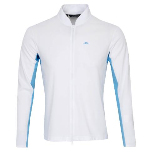 J Lindeberg Alex Mid Sweater White